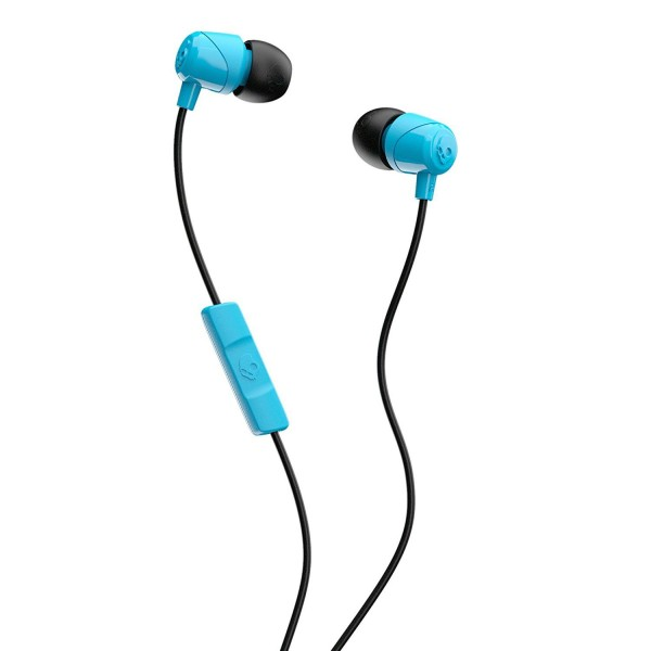SKULLCANDY JIB IN-EAR W/MIC - BLUE/BLACK