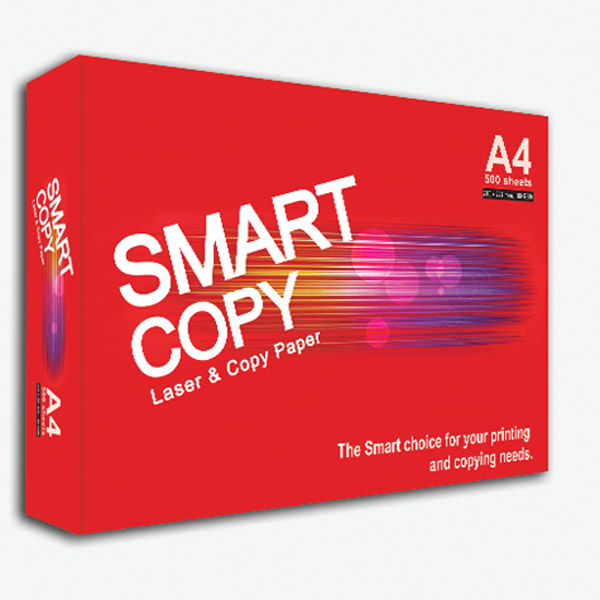 PAPER SMART COPY A4 (BOX OF 5 REAMS) WHITE 80GSM (...