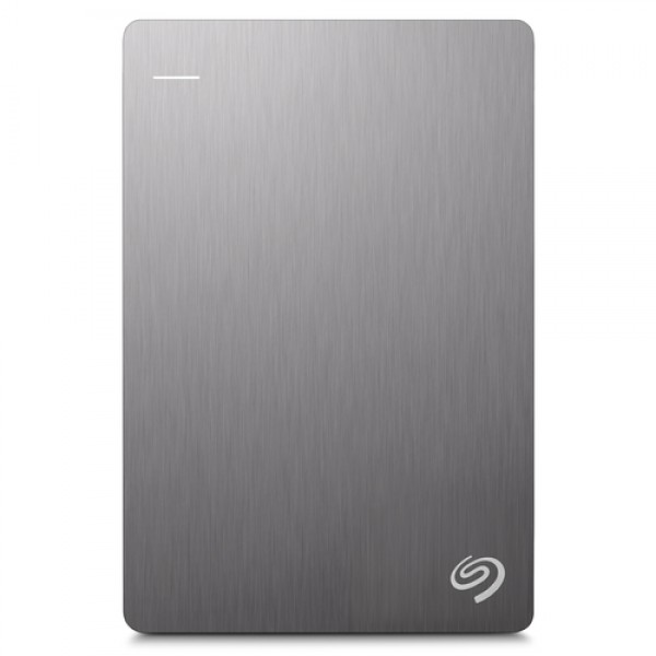 Seagate 1.0TB 2.5 Backup Plus Portable - Silver - ...