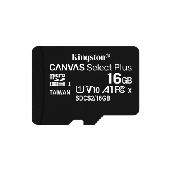 16GB micSDHC Canvas Select Plus 100R A1 C10 Card +...