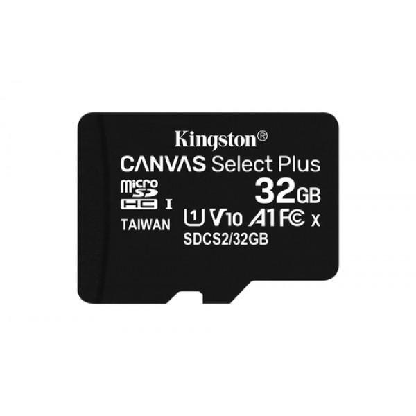 32GB micSDHC Canvas Select Plus 100R A1 C10 Card +...