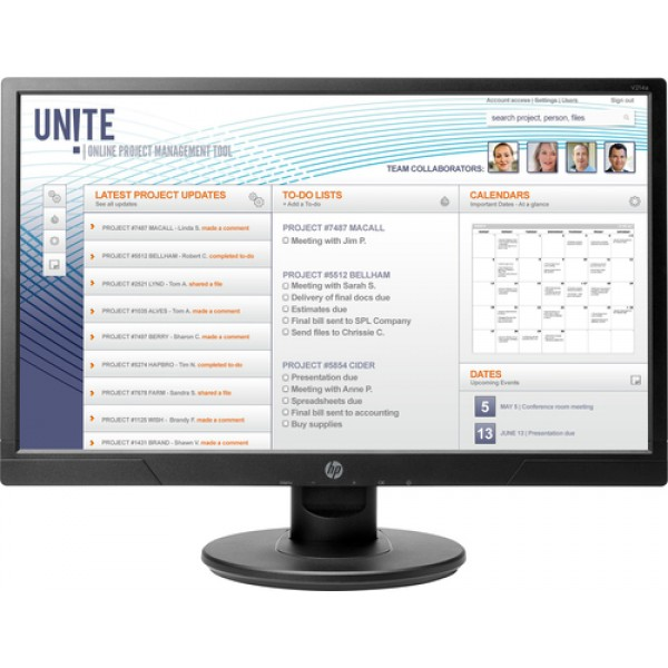 HP V214a 20.7-inch Monitor - Aspect Ration 16:9 Re...