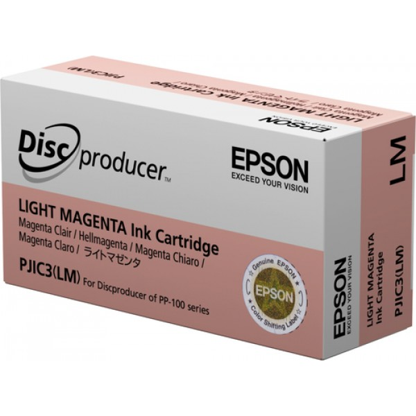 Epson Discproducer Ink Cartridge, Light Magenta