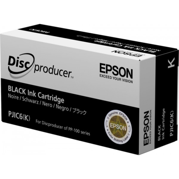 Epson Discproducer Ink Cartridge, Black