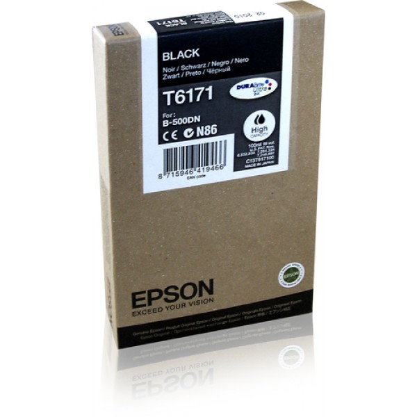 EPSON INK CARTRIDGE HC BLACK 4K