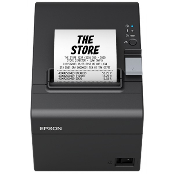 Epson TM-T20III (012): Ethernet, PS, Blk, EU