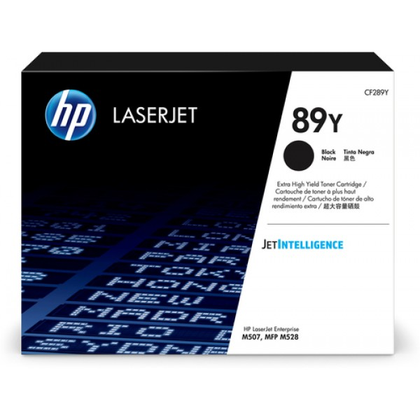 HP # 89Y Extra High Yield Black LaserJet Toner Car...