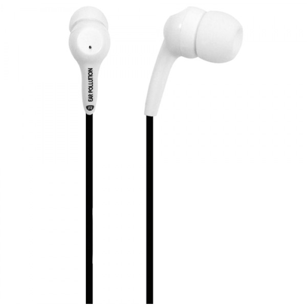 IFROGZ BOLT PLUS EARBUDS WITH MIC  WHITE