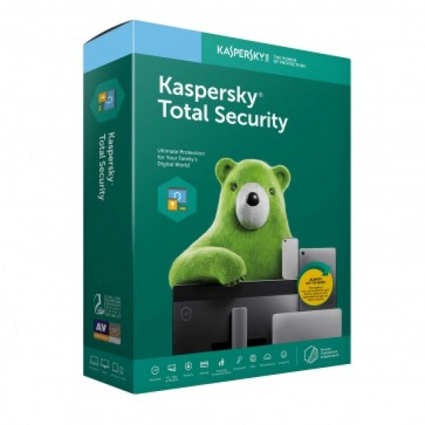Kaspersky Total Security 2020 3+1 device 1 year Re...