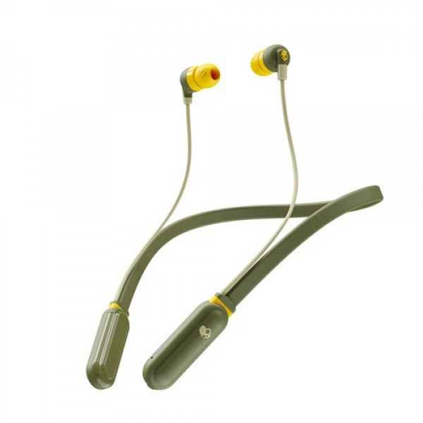 INKD+ WIRELESS IN-EAR MOSS/OLIVE/YELLOW