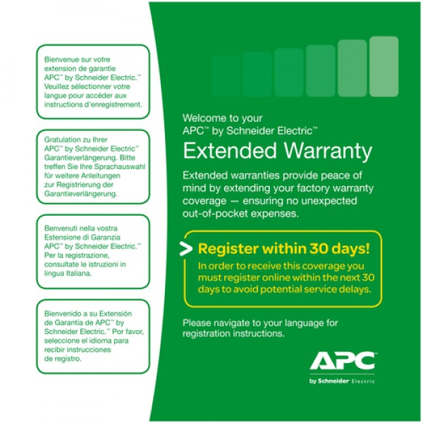 Service Pack 3 Year Warranty Extension (for new pr...